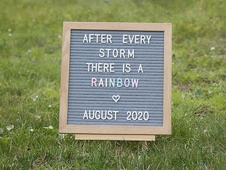 Okanagan Rainbow Maternity Session | Beth's Glimpse