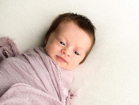 Local Newborn Photographer | West Kelowna, BC | Baby M's Glimpse