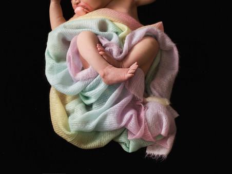 Summerland Newborn Photographer |  Rainbow Baby B's Session