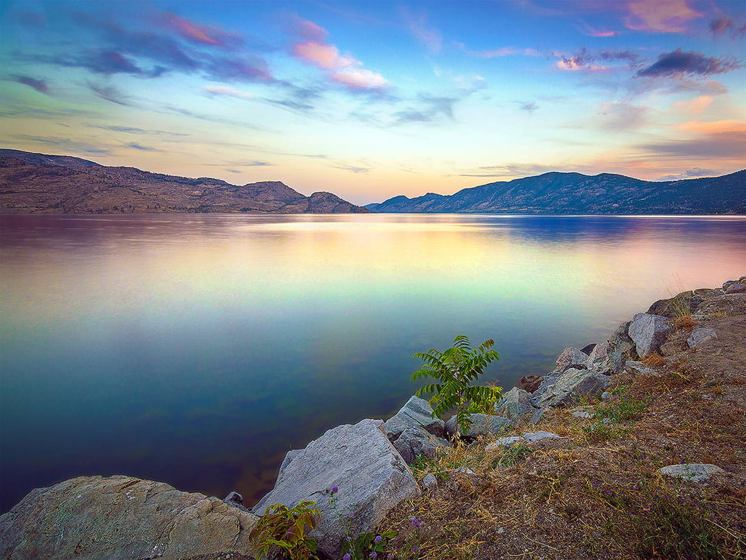 Peachland, Okanagan Lake, BC