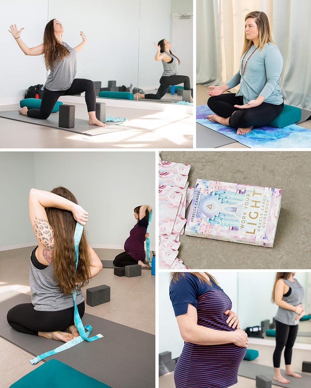 Mandala Mamas prenatal yoga class in Kelowna