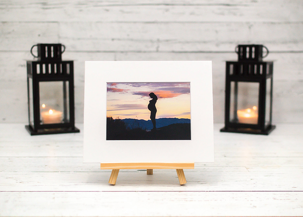 fine art photo print from West Kelowna maternity photographer Nicole Hemeon Photography