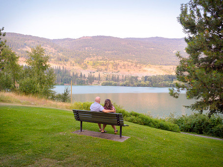Okanagan Engagement | Lake Country, BC | Stacey & Steve
