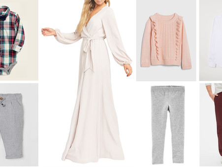February Style Guide - What to Wear for Family Portrait Sessions