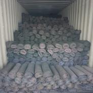 EVA Crumb Rolls loaded in container
