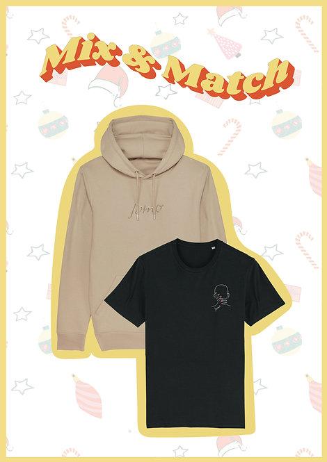 Mix & Match: 1 Sweater & 1 T-shirt