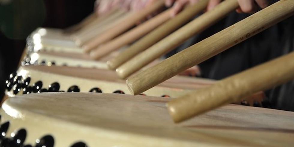 La voce delle potenti percussioni Giapponesi