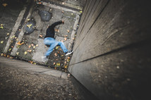 Lifeproof London parkour | Rupert Fowler photography