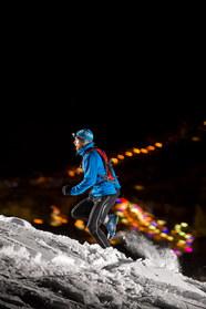 Alpine runner for Mens Fitness | Rupert Fowler photography