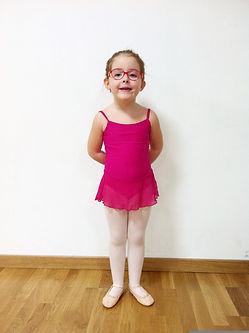 uniforme ballet initiation Escola Liquid Dansa