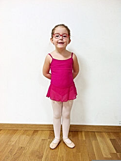 uniforme ballet initiation Escola Liquid Dansa