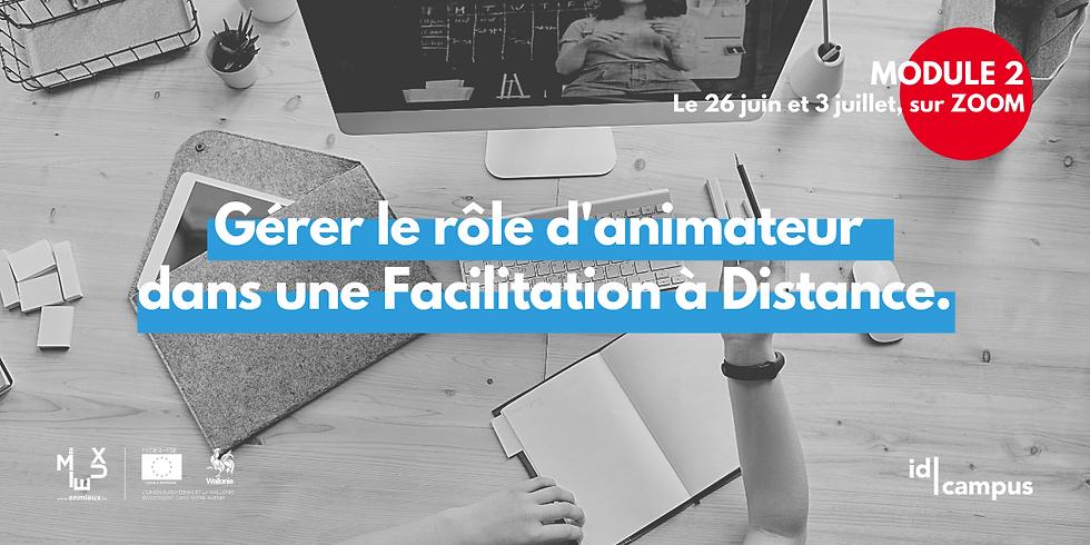 """Module 2 / Formation """"FACILITATION À DISTANCE"""""""