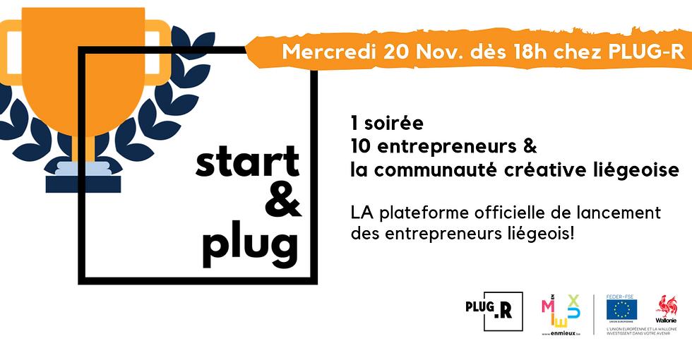Start&Plug, LA plateforme officielle de lancement des entrepreneurs liégeois!