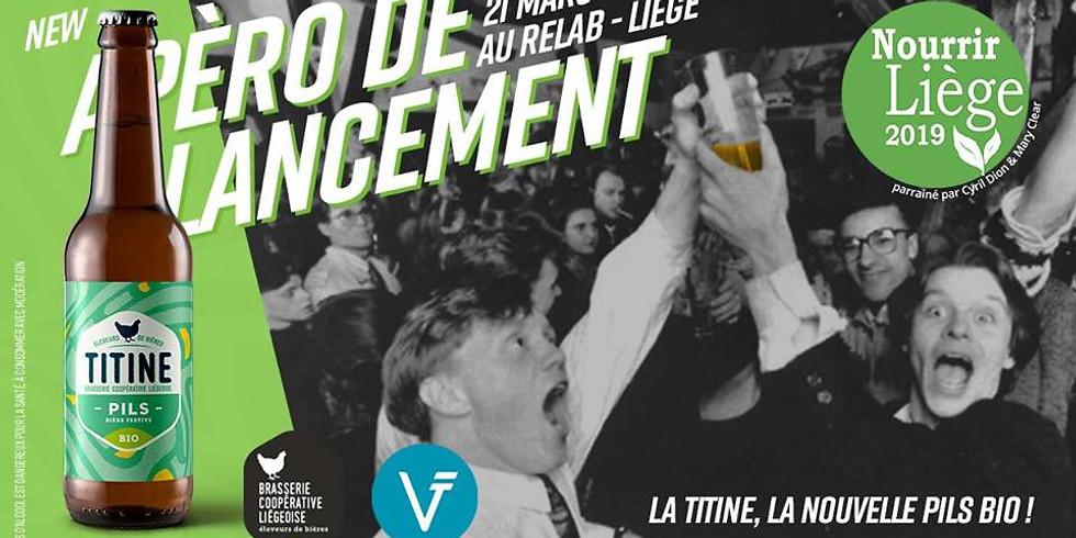 Apéro de lancement du Festival Nourrir Liège 2019