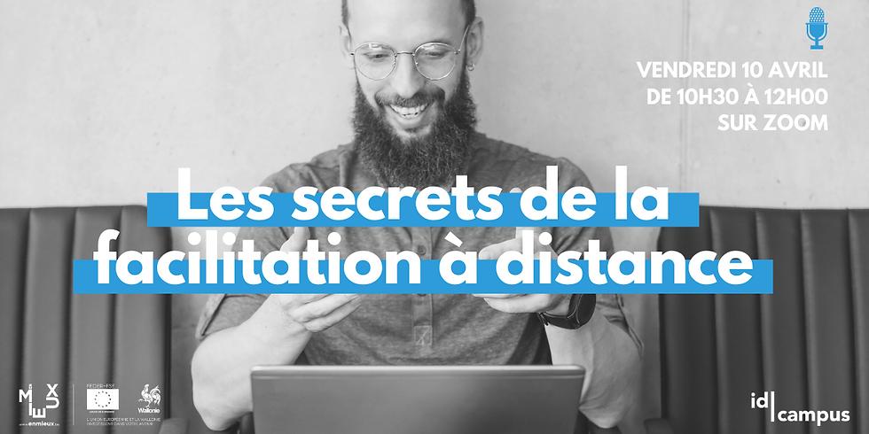 "Workshop ""FACILITATION À DISTANCE"" Niv. 1, OFFERT"