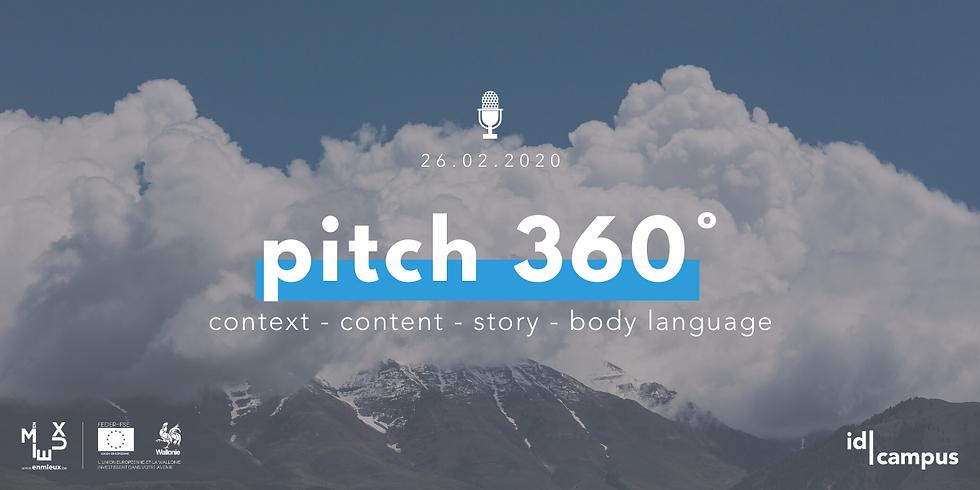 Workshop TEST: Le Pitch à 360°