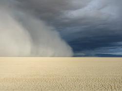 Dust Storm near Black Rock