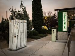 Aspens in the Fall: Signal Box
