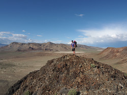 Hiking Black Rock point