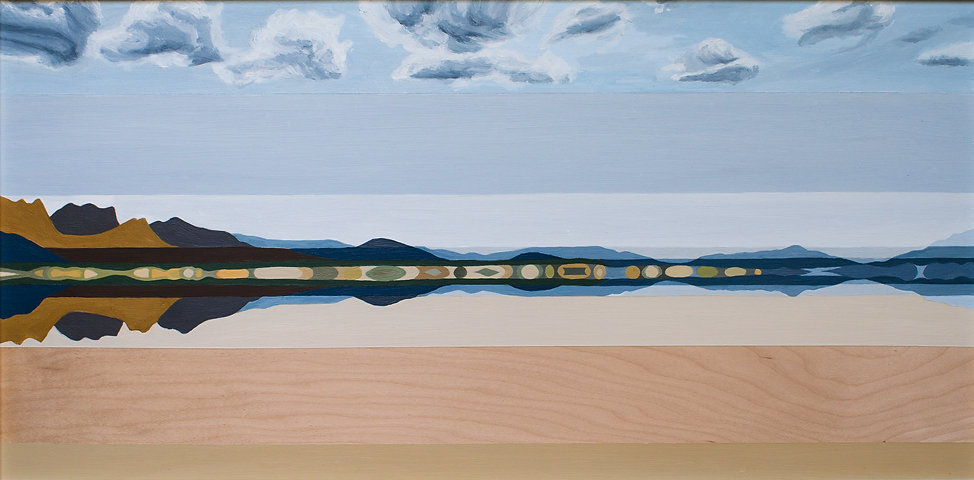 Black Rock Desert Waterlines_ 12 mile no