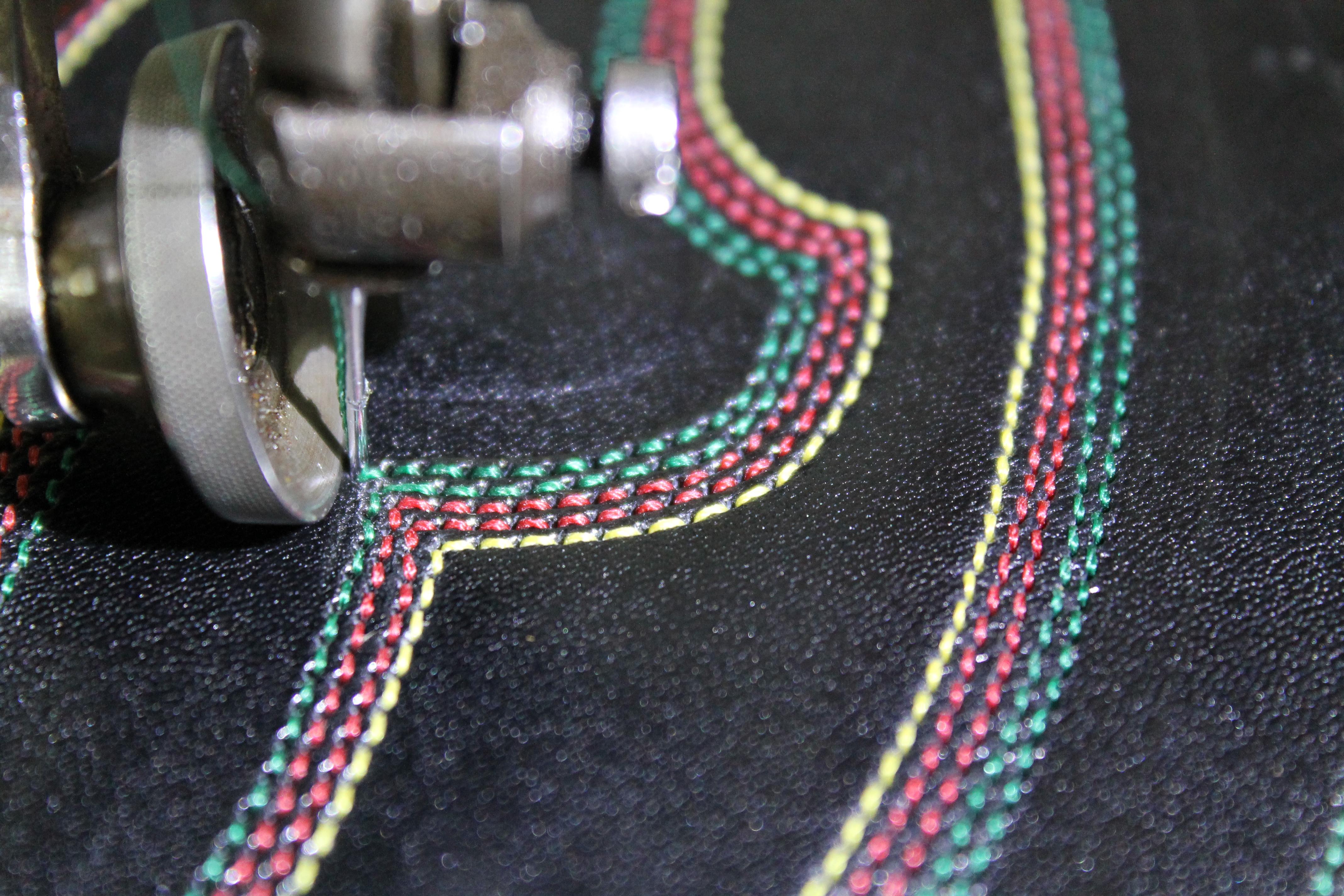 Stitching tops