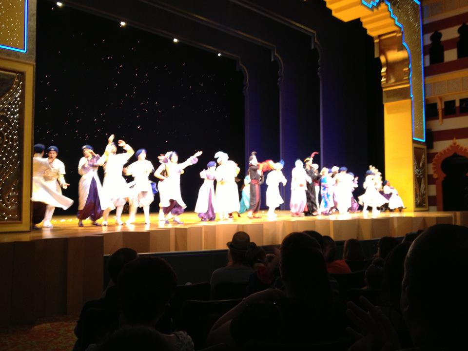 'Aladdin' curtain call