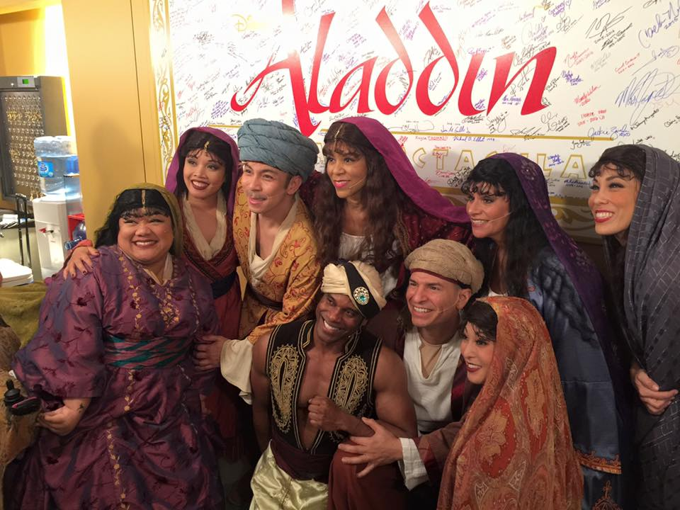Original Aladdin Cast