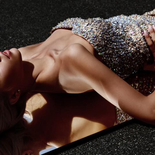 Lady in the Diamond Dress