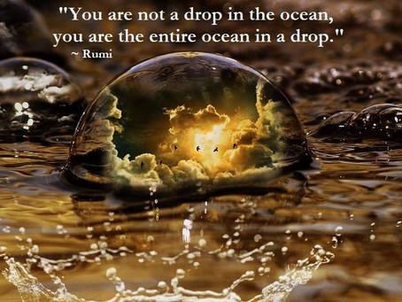 You Are Not a Drop in the Ocean ...