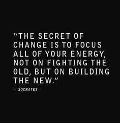 The Secret of Change ...