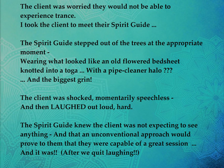 Spirit Guides Have a Sense of Humor Too!