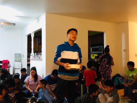 Home cell & Birthday ( Juni)