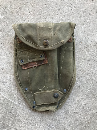 US GI Canvas Shovel Cover with ALICE clips