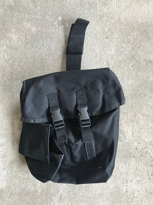 Black Gas Mask/Utility/Sustainment Pouch