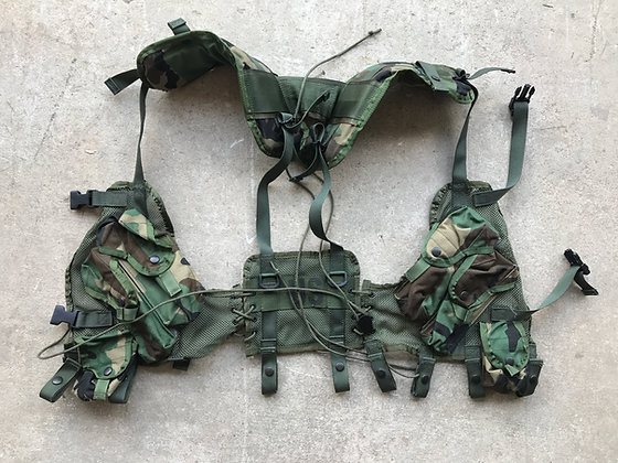 NEW Woodland Tactical Load Bearing Vest (enhanced)