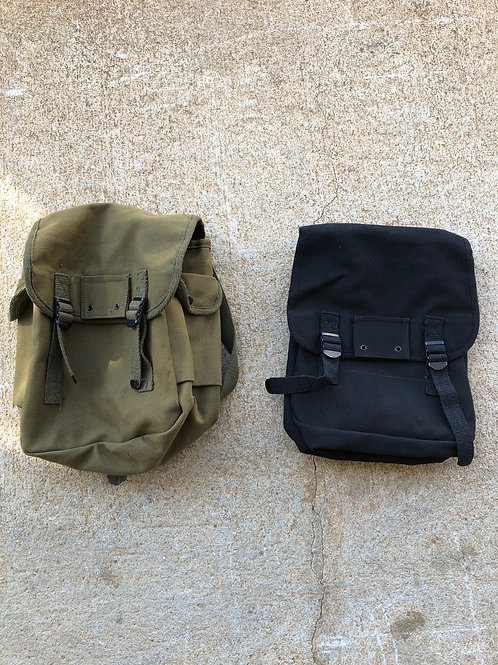 Canvas Musette Bag