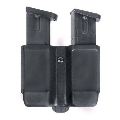 BLACKHAWK Double Stack Double Mag Case - Black