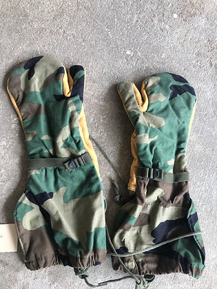 Woodland Shooter's Mittens - No liner