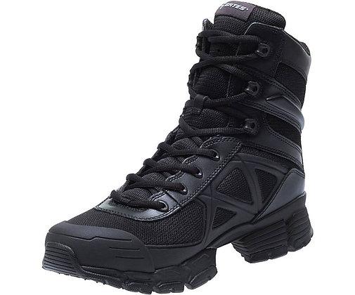 """BATES Men's 8"""" Velocitor Black Boot"""