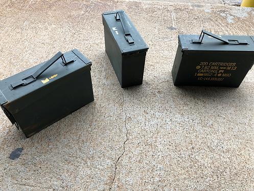 200 Cartridge 7.62MM Ammo Can