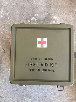 General Purpose First Aid Kit Box