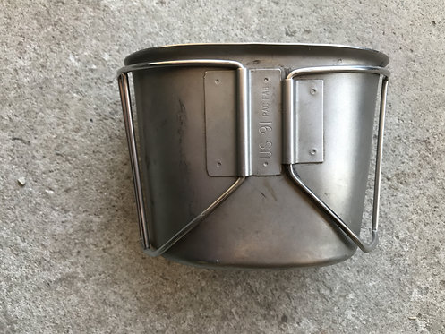 US GI Canteen Cup Stainless Steel