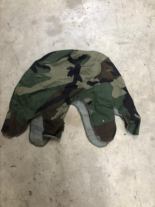 Woodland Helmet Cover