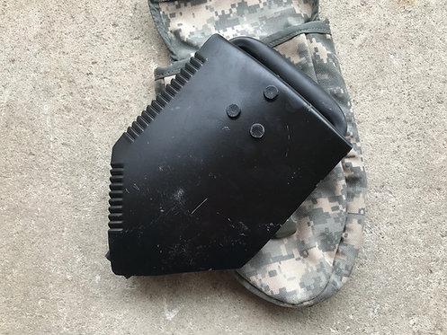 US GI Folding Shovel with ACU Pouch