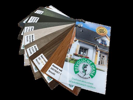 Nové farby pre vaše okná a dvere