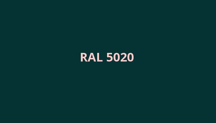 RAL-5020