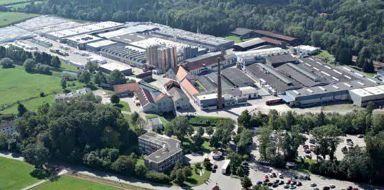 Sídlo spoločnosti v Türkheim