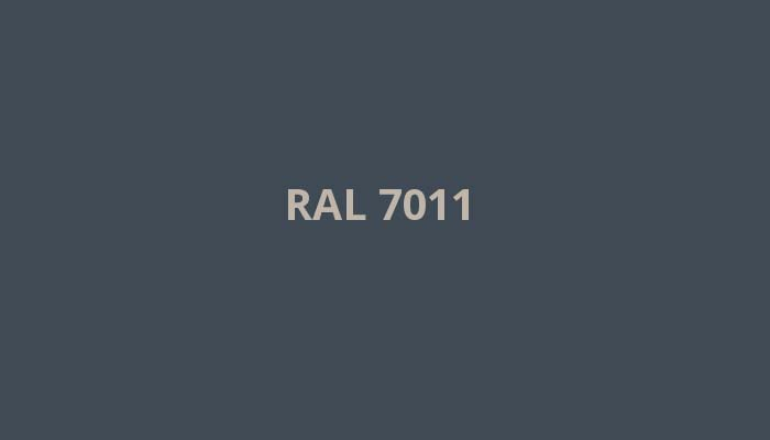 RAL-7011
