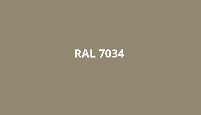 RAL-7034
