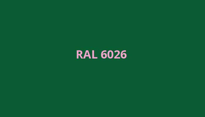 RAL-6026
